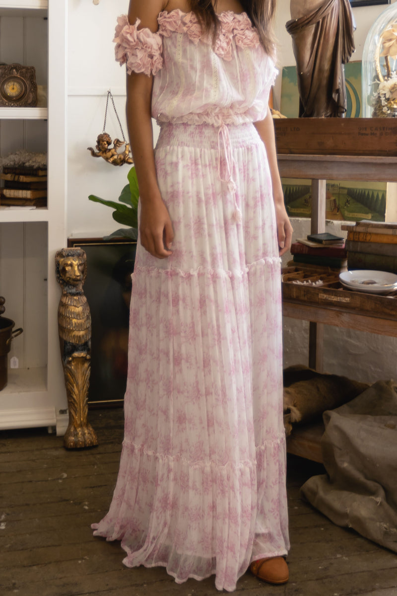 Sunday Maxi Skirt - Baby Pink