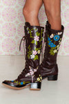 Sweet Pea Boots - Dark Tan
