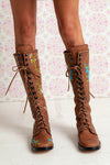 Sweet Pea Boots - Light Tan
