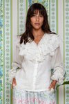 Sweet Pea - Lotus Blouse in Ivory