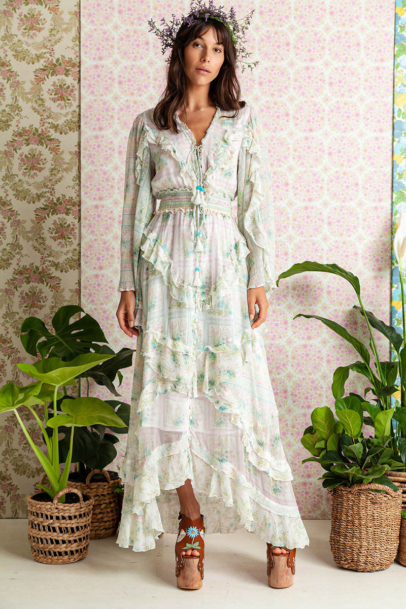 Sweet Pea - Spiral Frill Duster