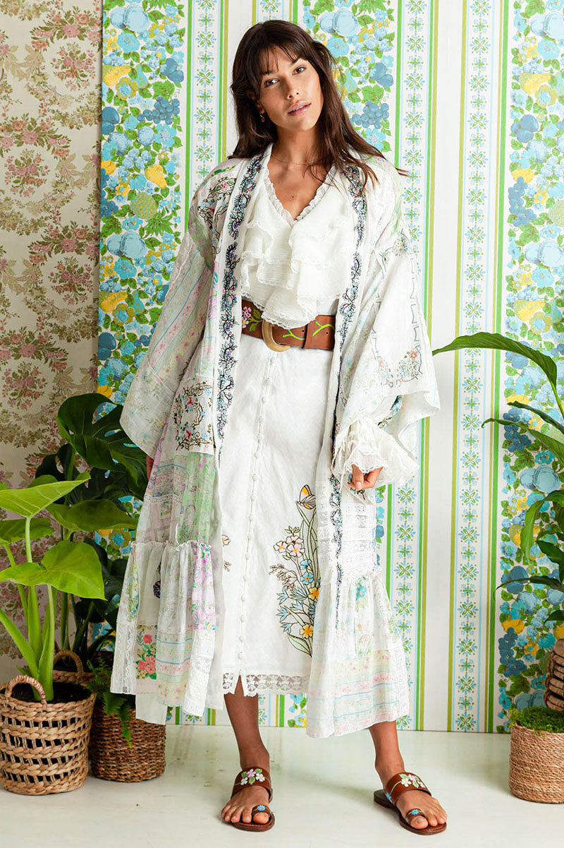 Sweet Pea - Patchwork Robe