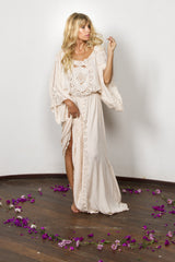 FILLYBOO - 'I BELIEVE IN UNICORNS' GOWN - BLUSH