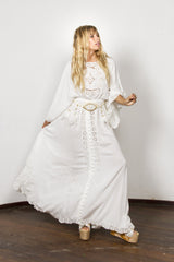 FILLYBOO - 'I BELIEVE IN UNICORNS' GOWN - IVORY