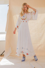 FILLYBOO - 'VINTAGE KIDS' DRESS - WHITE