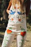 'STRANGE MAGIC' PINAFORE OVERALLS