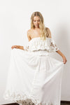 FILLYBOO - 'WONDER YEARS' SET - TOP & SKIRT - IVORY