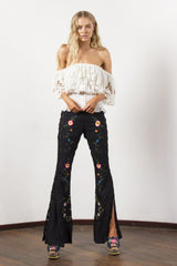 FILLYBOO - 'AT THE HEART OF IT' FLARED PANT - BLACK