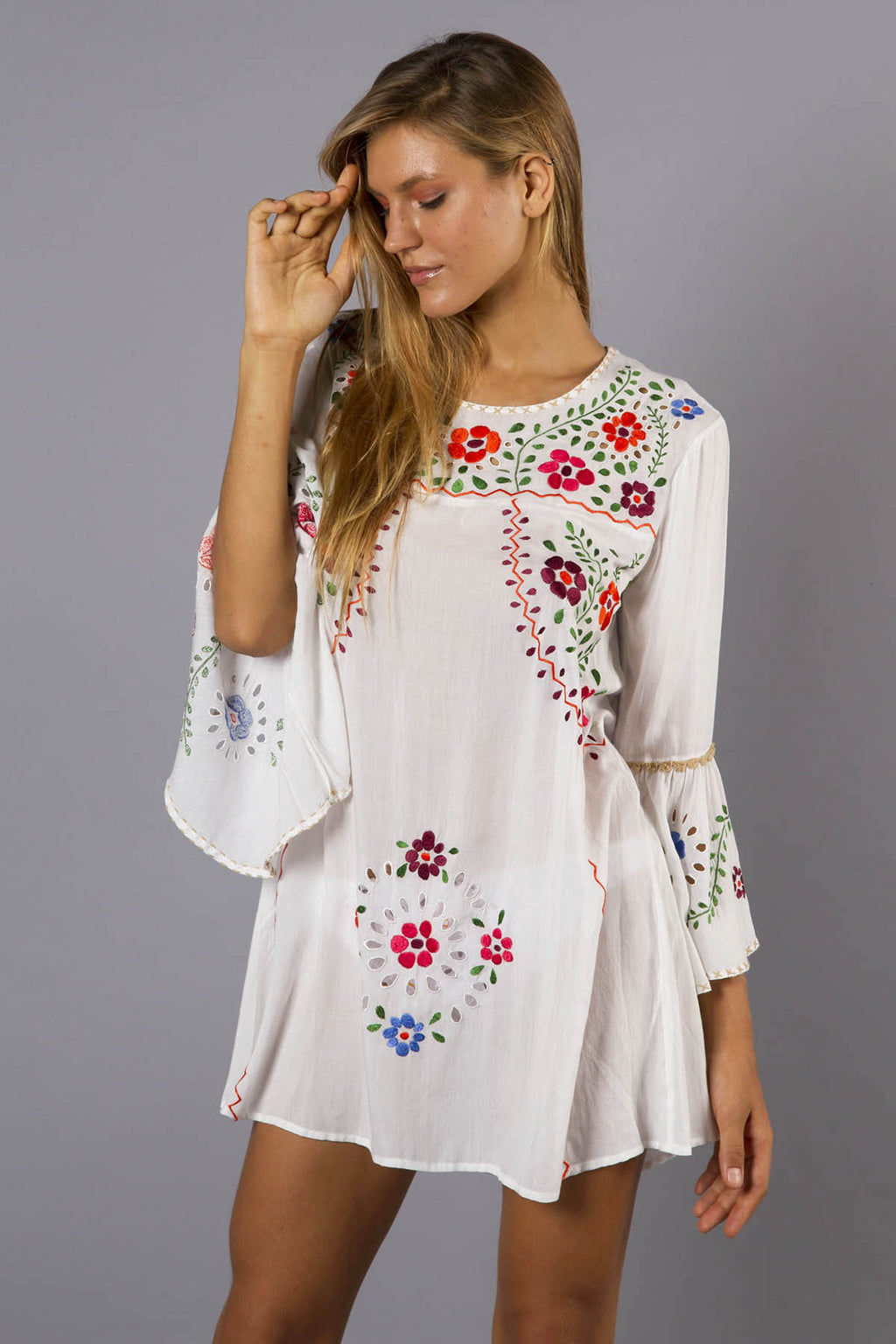 'WOODSTOCK' MINI DRESS