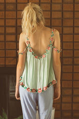 FILLYBOO - 'ZIPPIDY' TOP - MINT