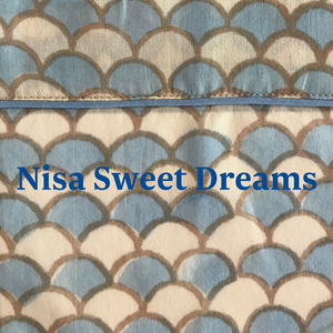 Nisa Sweet Dreams dressing gown / bath robe / brunch coat