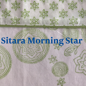 Sitara Morning Star dressing gown / bath robe / brunch coat