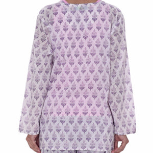 Vasanta - Colour Burst - Long sleeve tunic top