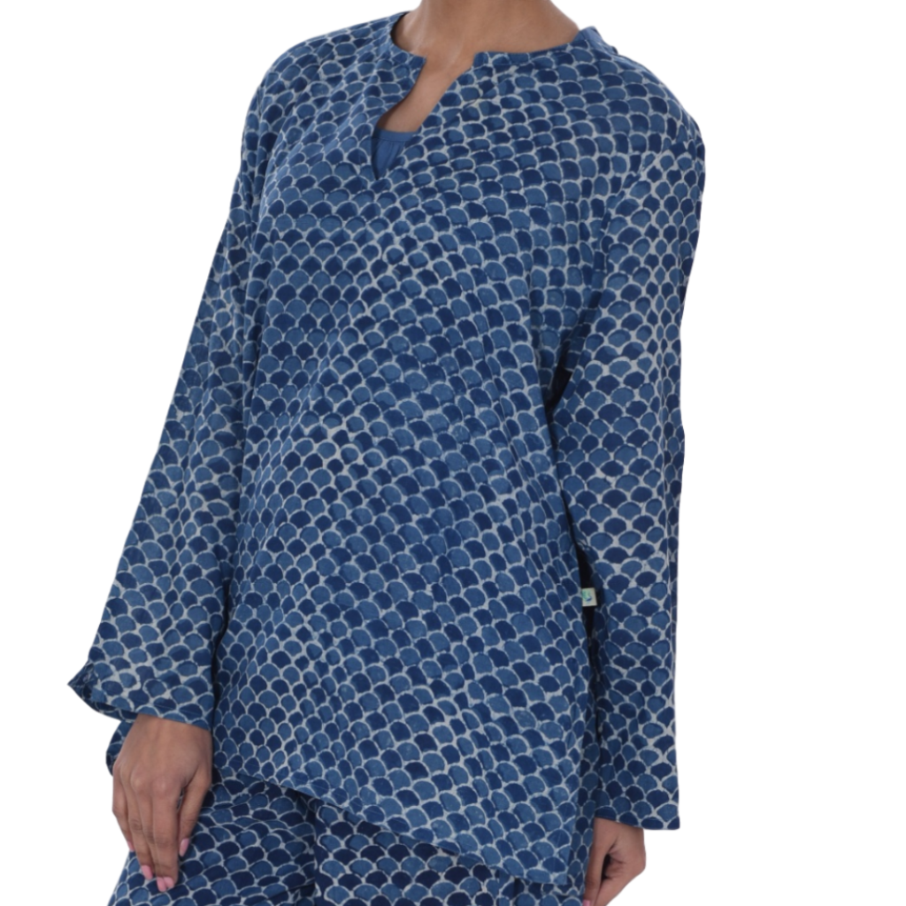 Nisa Sweet Dreams - Long sleeve tunic top