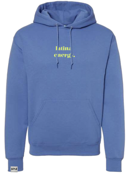 """LATINA ENERGY"" EMBROIDERED HOODIE *PRESALE*"