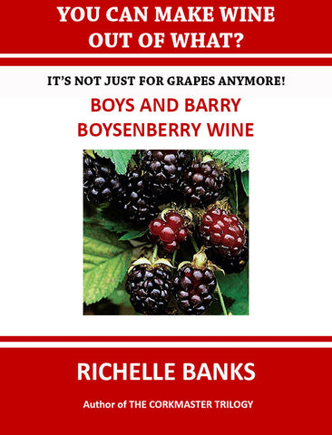BOYS AND BARRY BOYSENBERRY WINE