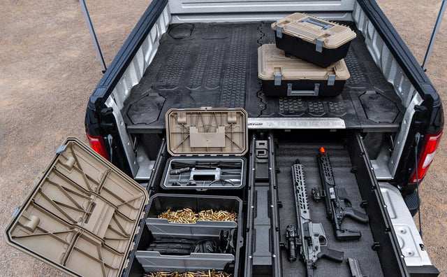 Legally Secure and Store Your Firearms for Transport in Your Pickup Truck Image