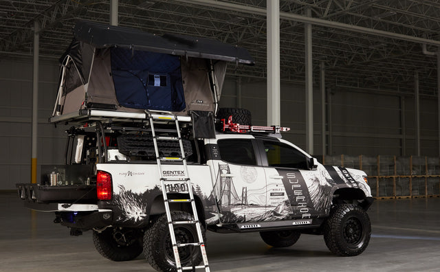 CHEVY x Gentex Colorado Build at SEMA 2018 Features DECKED Truck Bed Storage