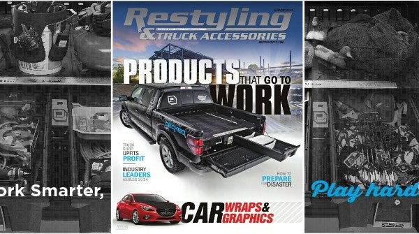 DECKED's First Cover - Restyling & Truck Accessories