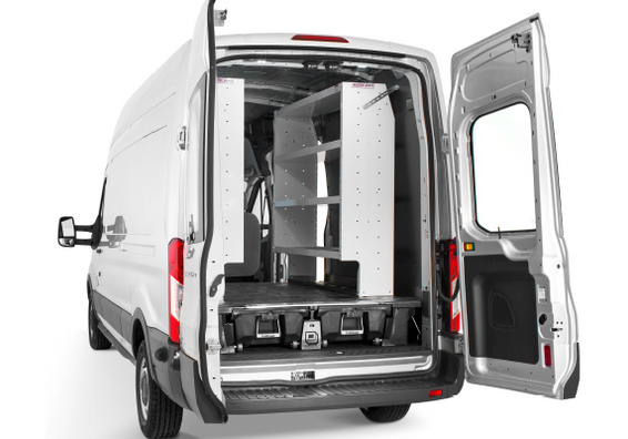 How To: Install Van Shelving with the DECKED System Image