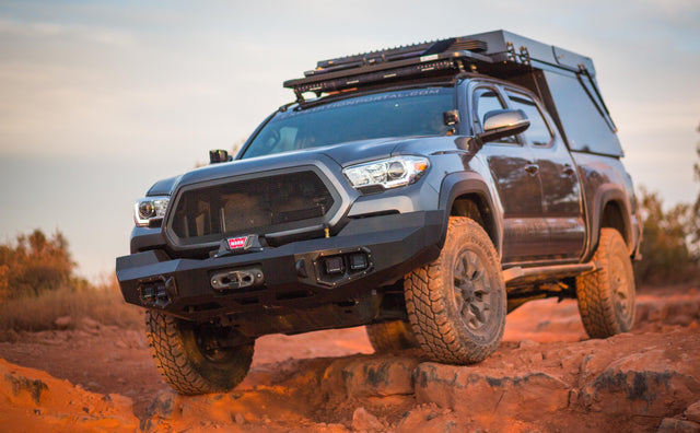 DECKED Featured in Overland Journal's Ultimate Tacoma Build Image