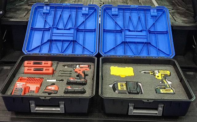 Customize your DECKED D-Box Toolbox with Kaizen Foam inserts