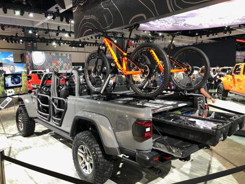DECKED Debuts With 2020 Jeep Gladiator Pickup at L.A. Auto Show