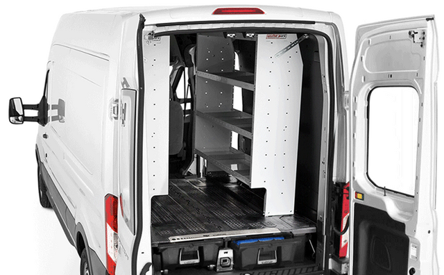 DECKED Cargo Van Systems Compatible with Shelving and Racking Units