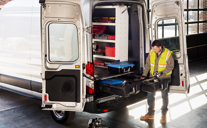 Your van is more efficient with DECKED inside