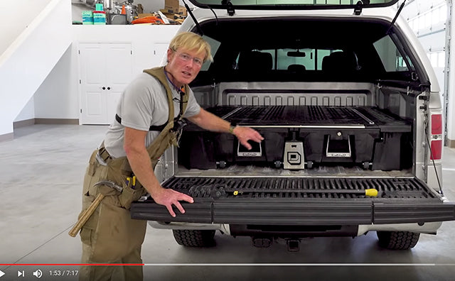 DECKED Installation Review - Ford F150