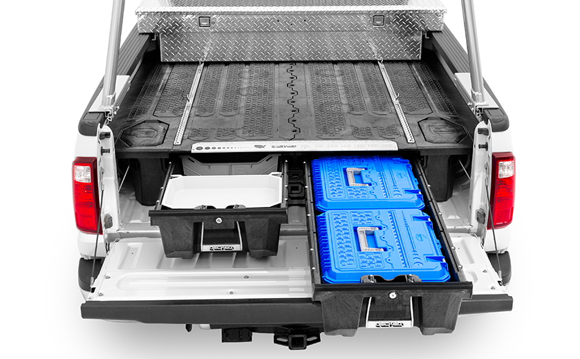 How to install a truck tool box - decked