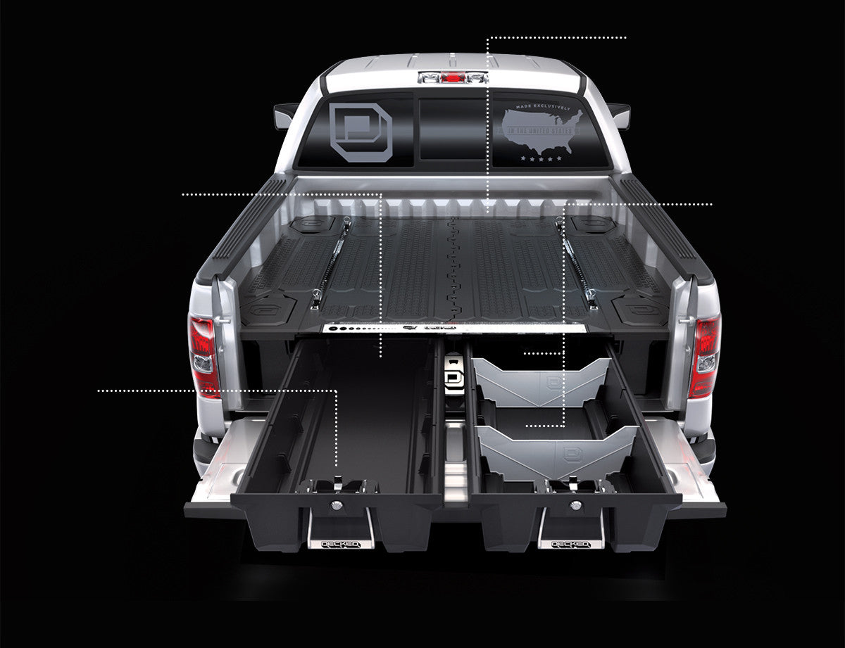 bed drawers specific decked image storage sliding of truck