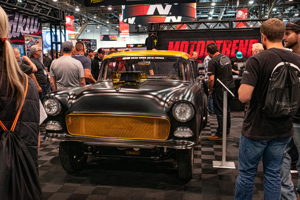 Rennovated Vintage Car at Sema