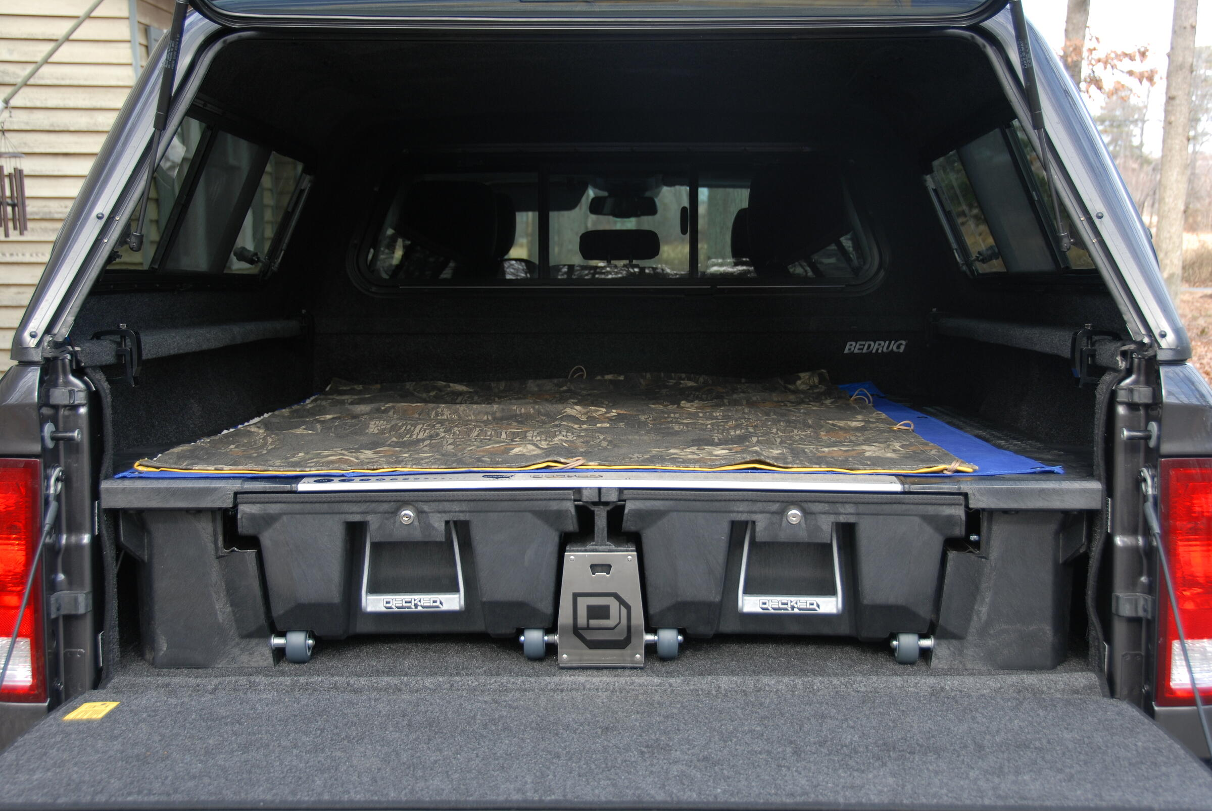 Bed Liner DECKED Compatibility
