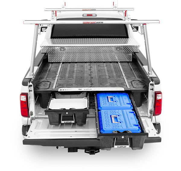 Decked 174 Pickup Truck Bed Tool Boxes And Bed Organizer Decked