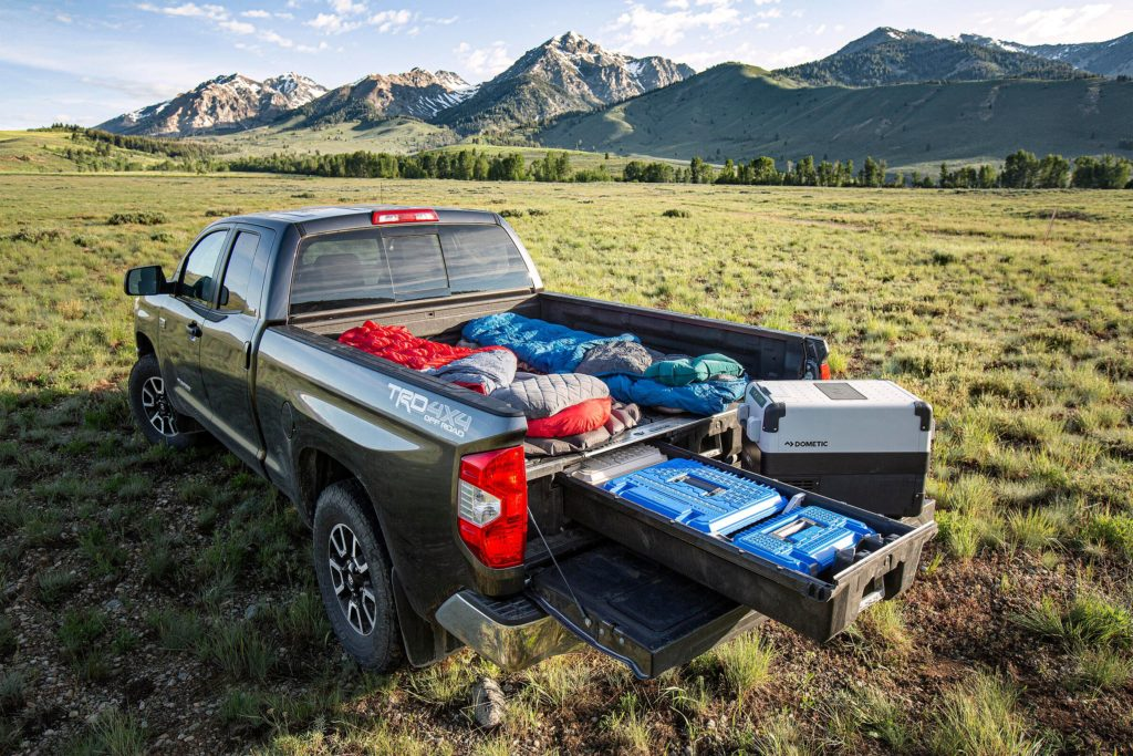 DECKED Drawer System camping