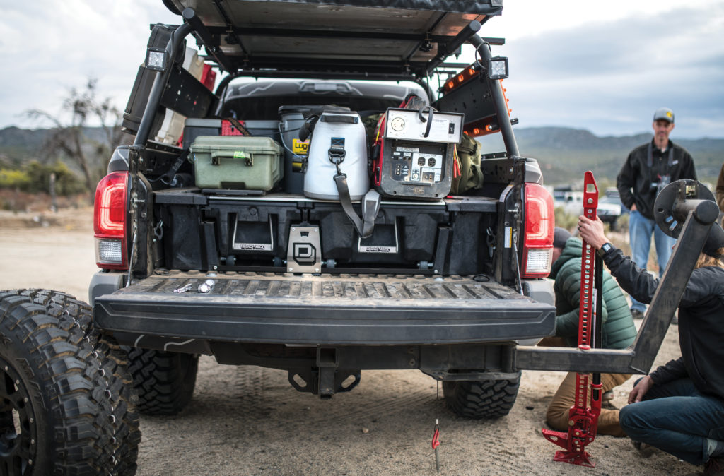vehicle gear for overlanding