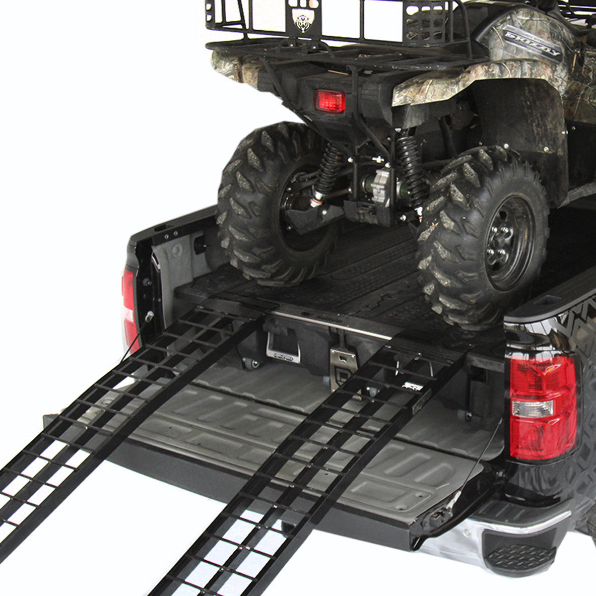Decked Diagram In Addition Gmc Sierra Led Lights Under Moreover Car Engine Note Make Sure To Place A Piece Of 3 4 Plywood Atv Avoid Long Term Effects