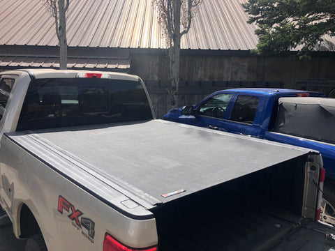 003- BAK Revolver X2 Tonneau Hard Rolling Pickup Truck Bed Cover on Chevy Silverado