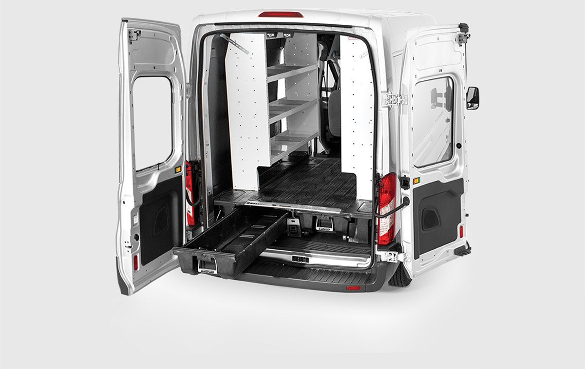 EFFICIENT & DECKED® Cargo Van Storage Systems and Toolboxes | DECKED