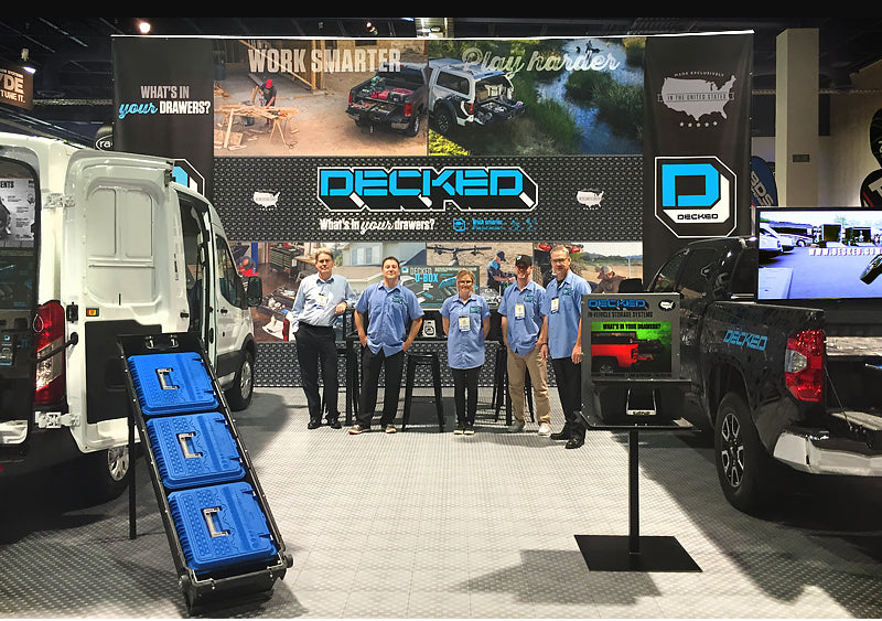 SEMA 2015 DECKED Booth