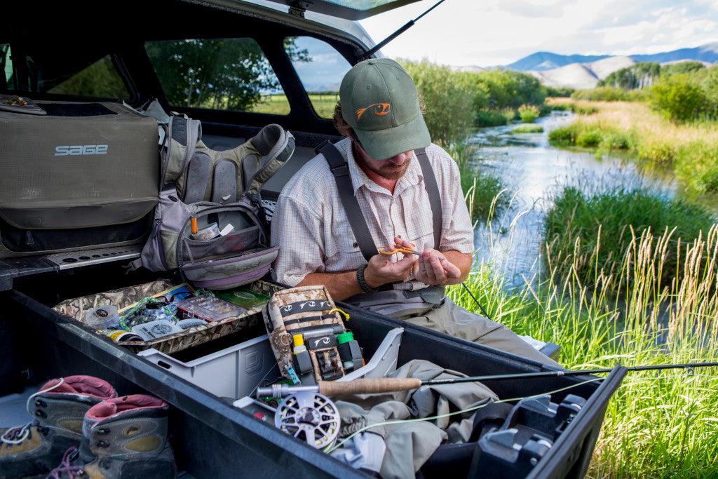 Get your drawers and get organized. No more crawling around in the back of your truck to locate that heap of gear that you hid under the float tube to keep people from stealing. Secure and ready to go you are going to spend less time messing around and more time fishing.