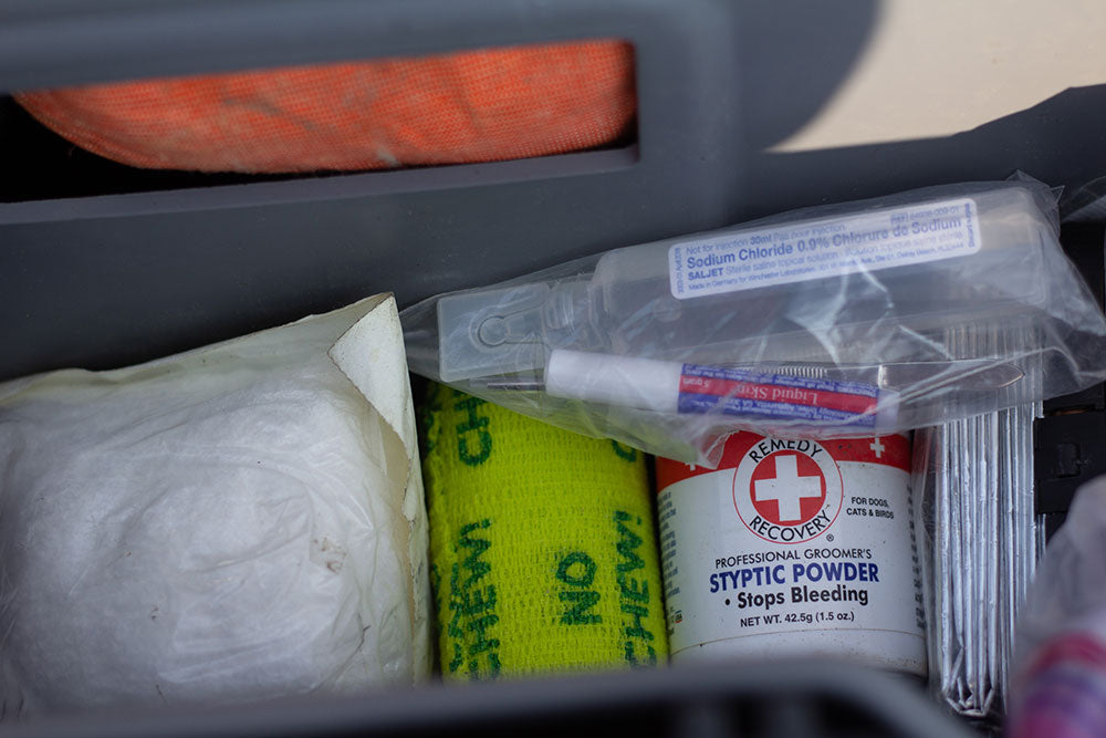 first aid kit in DECKED Drawer System