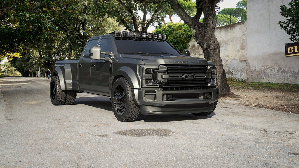 Ford Goes All Out With 5 2020 Super Dutys At Sema Decked