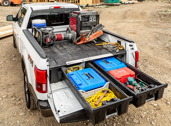 truck bed tool box solution