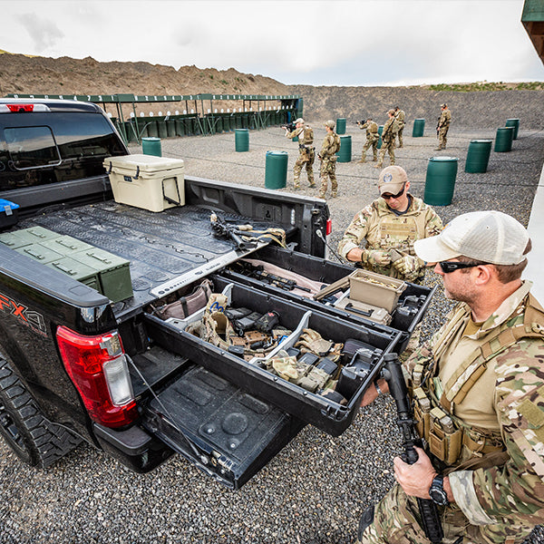 Easy Access tactical truck bed tool box