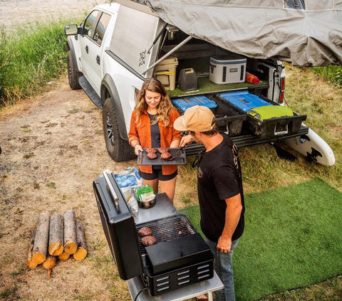truck camping cooking accessories