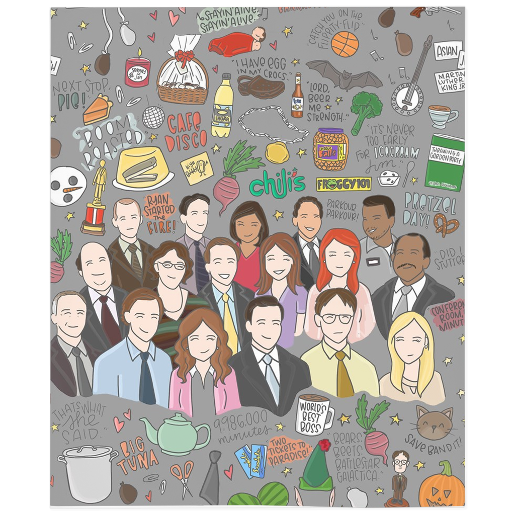 Office and Parks Blanket