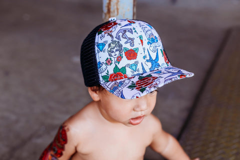 Sailor Tattoo Hat