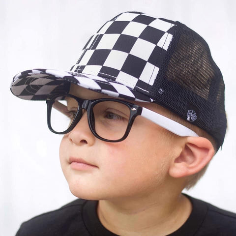 Checker Monochrome Hat